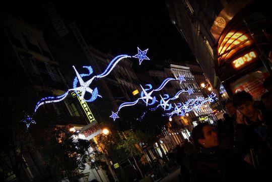 Sol Madrid luces de navidad