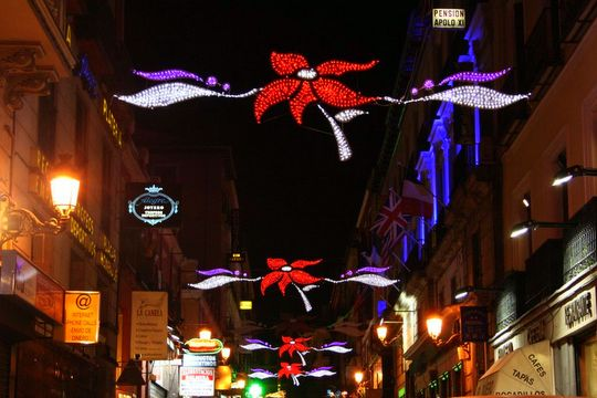 Madrid 2012 Christmas lights