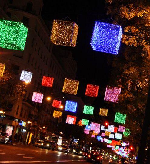 Madrid 2012 luces de navidad