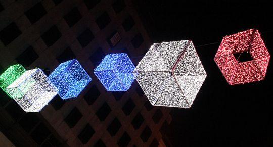 Madrid luces de Navidad
