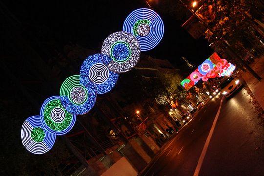 Barrio salamanca luces
