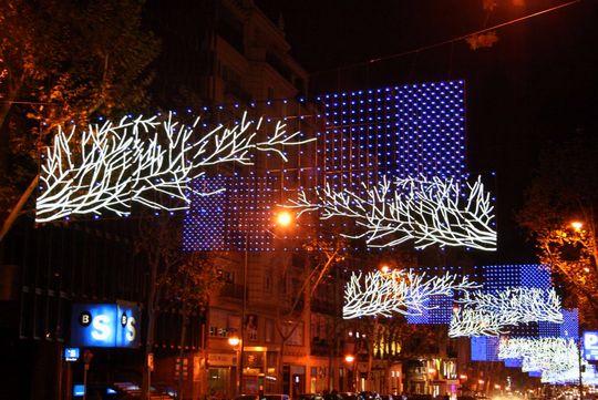 Barrio Salamanca luces navidad 2012