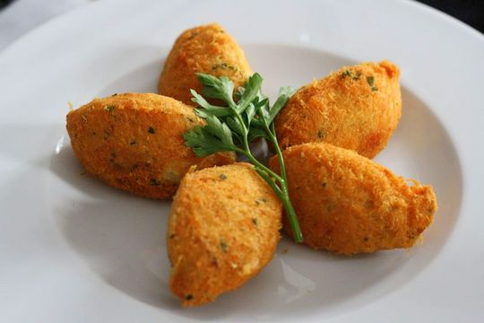 Thanksgiving turkey croquettes