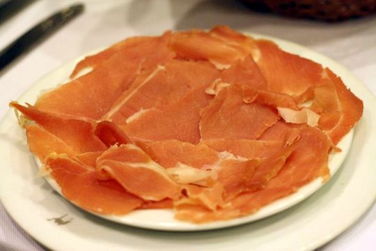 Cured ham Portugal