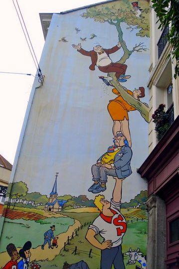 Brussels Mural street art