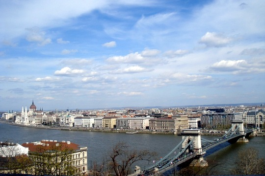 Budapest View of River