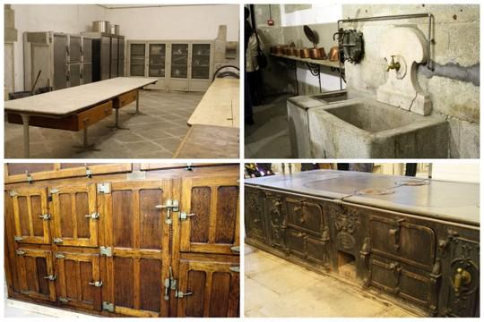 Madrid royal kitchens
