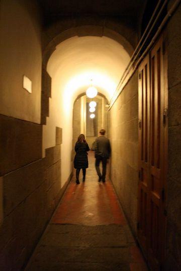 Royal Palace Madrid Kitchen Tour Long Hallway