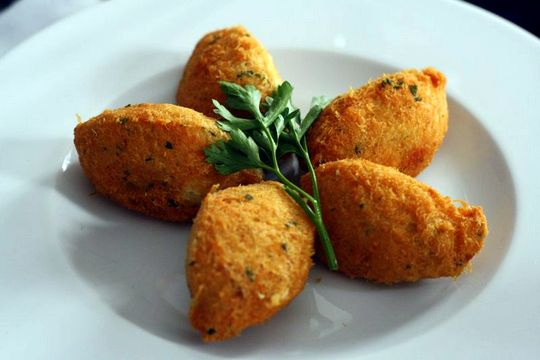 Salt Cod croquettes recipe