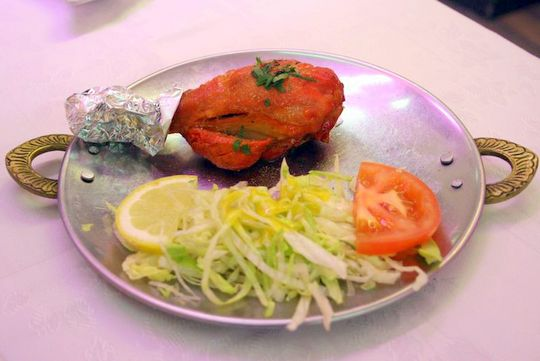 Tandoori Chicken Currys Cheap Indian Restaurant Madrid