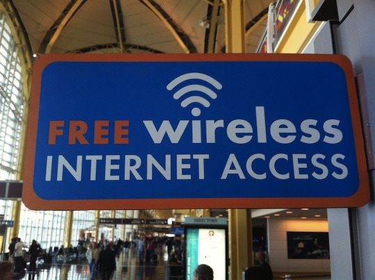 free wifi airport
