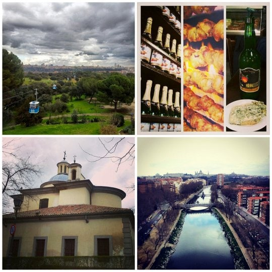 Tourist sights in Madrid