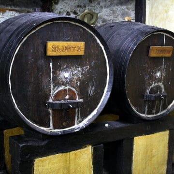Spanish Cider House barrels