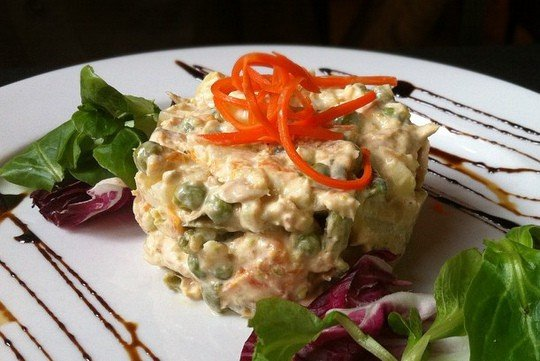 ensaladilla rusa recipe, russian potato salad
