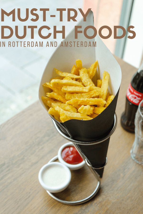 The Amsterdam aesthetic isn't all tulips and picturesque houses. It's also stroopwafels and herring! Dutch food may not be on your radar yet, but it should be. This foodie travel guide to Rotterdam and Amsterdam narrows down the bites you can't miss.