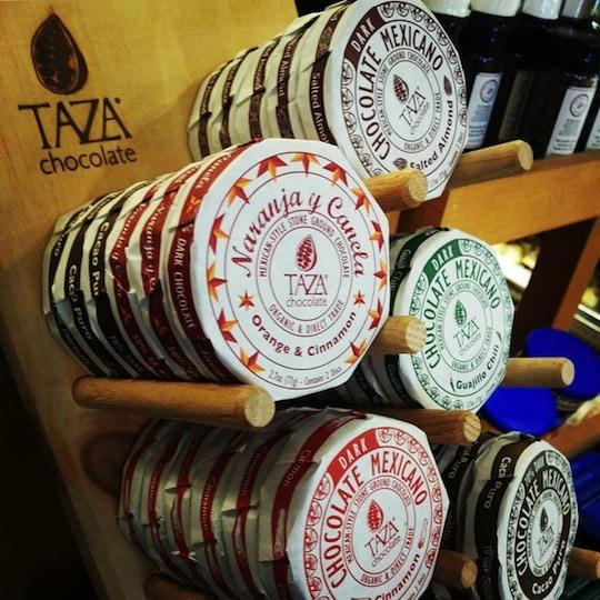 Taza chocolate on Boston Food Tours
