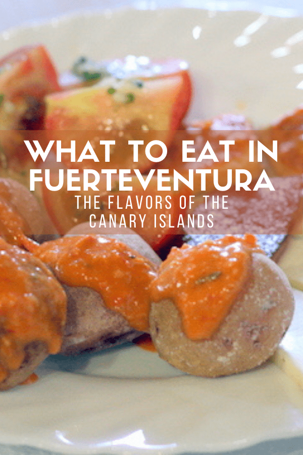 Traditional and authentic food in the Canary Islands is so different than what you might find elsewhere in Spain, but it's well worth your time! Here are some of my favorite typical bites from a trip to Fuerteventura, from breakfast options to desserts and so much more.