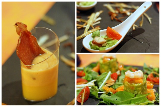 Tasting menu at Elba Golf
