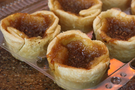 butter tart on toronto food tours