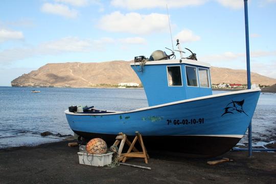 Fuerteventura fishing boat