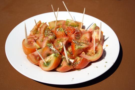 Fuerteventura food tomatoes