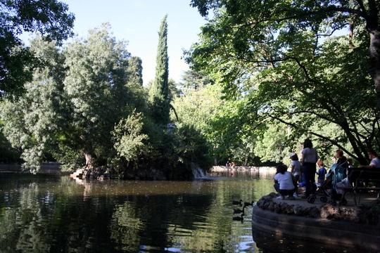 Duck Pond Madrid park