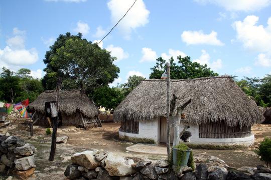 Riviera Maya typical homes
