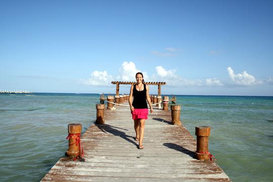 Lauren in Playa del Carmen