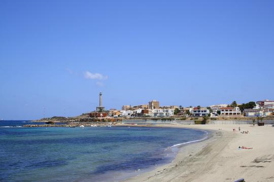 Murcia beach at Cabo de Palos