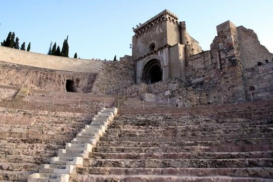 Roman ruins in Murcia