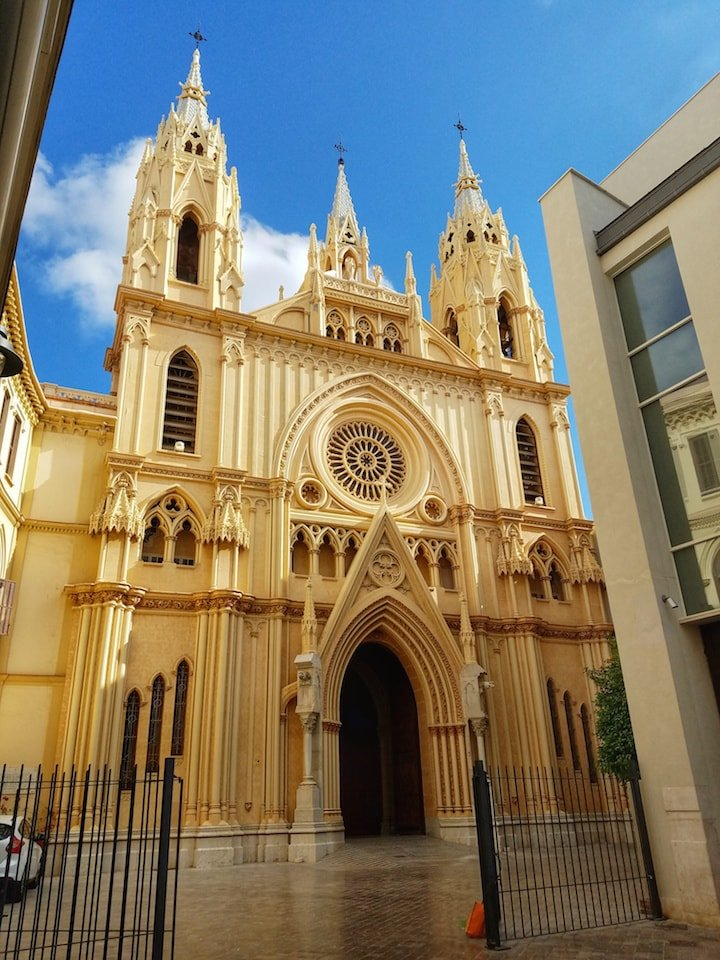 Sacred Heart Church Malaga
