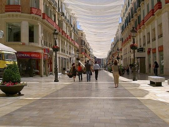 Calle Larios Malaga