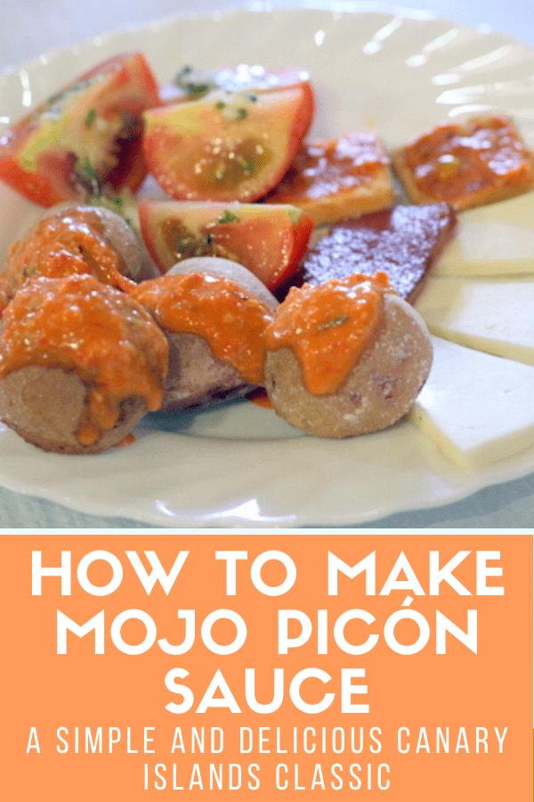 Recipe for Canarian mojo picón sauce