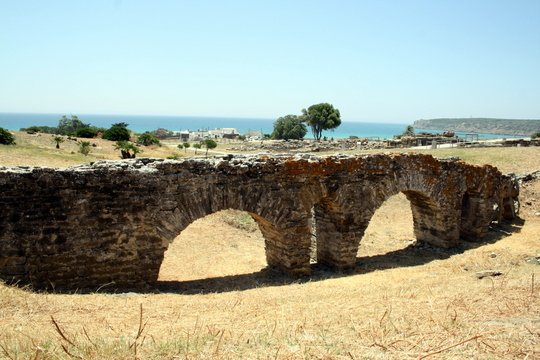 Bolonia ruins Cadiz