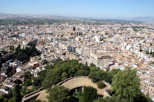 View of Granada Spain