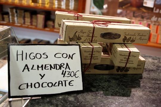 Alpujarran Food, Chocolates