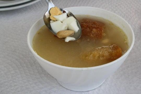 Soup in Alpujarras
