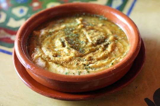Moroccan food in Granada