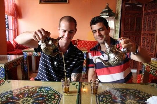 tea house in Granada
