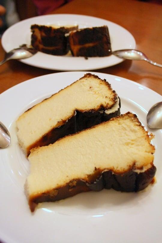 La Vina cheesecake San Sebastian