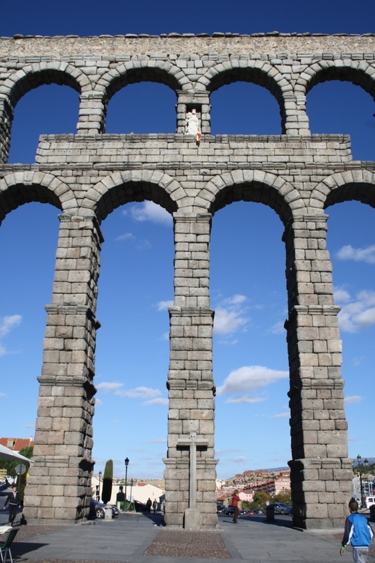 day trip from Madrid Segovia
