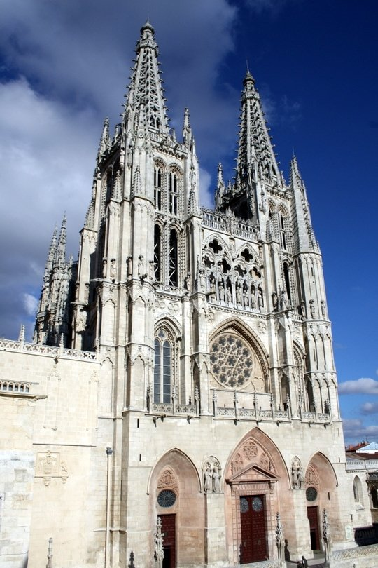 most beautiful Cathedral in Spain in Burgos