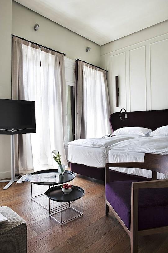 rooms at alma seville, luxury seville hotel