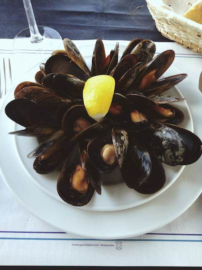 seafood in Spain