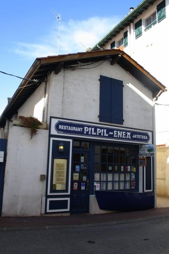 restaurants Saint Jean de Luz pilpil enea