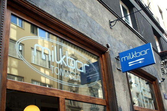 best milk bar in Krakow