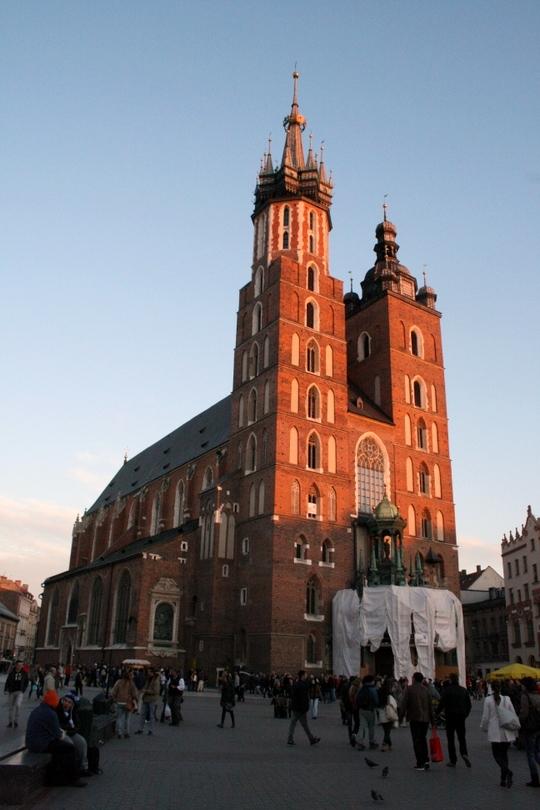 visting Krakow