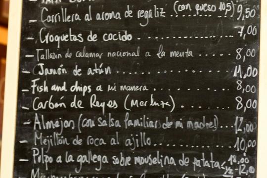 Bar la Berenjena Madrid
