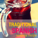 Pinterest image for Traditional Spanish Sangria Recipe