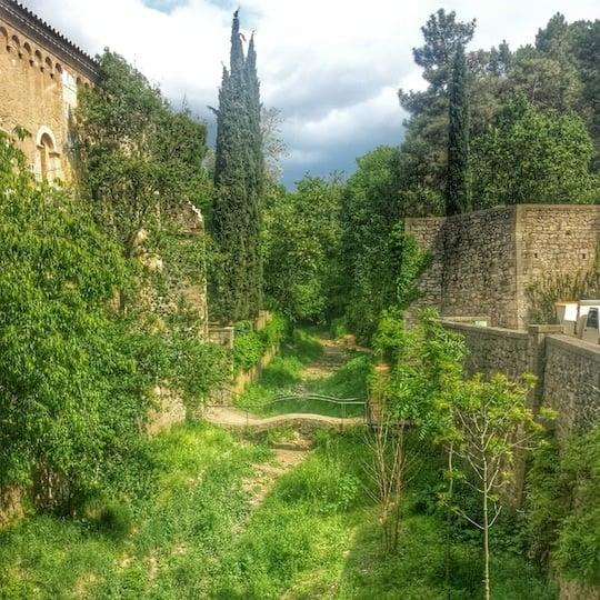visiting Girona